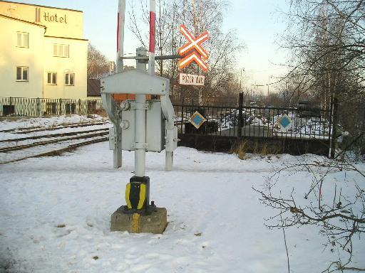 Nádraží Praha Řeporyje přejezd