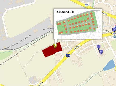 mapa - Richmond Hill