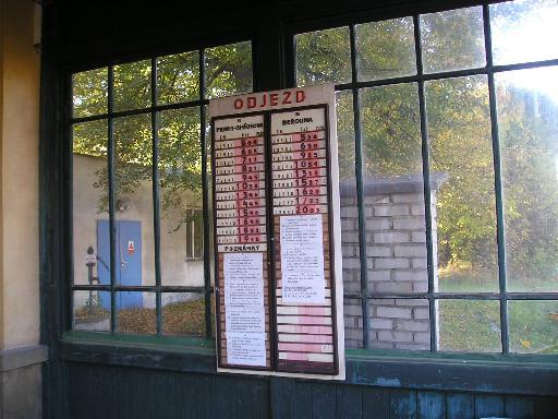 Nádraží Praha Řeporyje jízdní řády