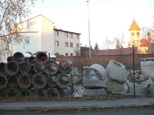 stavební dvůr